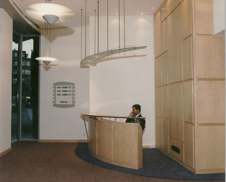 Unitline Systems High Wycombe Buckinghamshire Reception